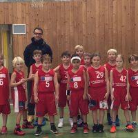 Die Kinder der U-9 unterliegen Döbling und Basket 2000. Bericht von Trainer Thonhauser