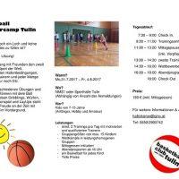 Basketballcamp für Kinder & Jugendliche von 7-15 Jahre Anfang August in der Rosenstadt!