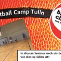 Basketballcamp im Sommer 2020 in Tulln für Kinder und Jugendliche von 7 bis 16 Jahren!